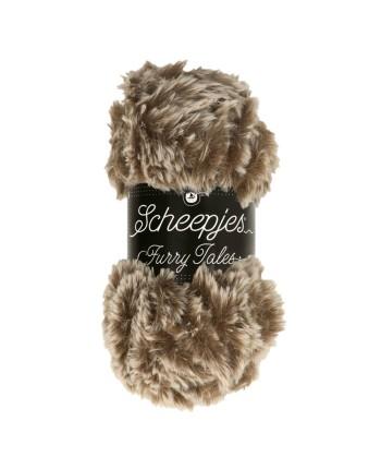 Scheepjes Furry Tales Nr. 973 Baby Bear - nėrimo - mezgimo siūlai